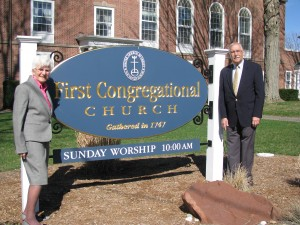 The United in Ministry Capital Campaign Co-chairs are Katherine Ill and Art Shahverdian.